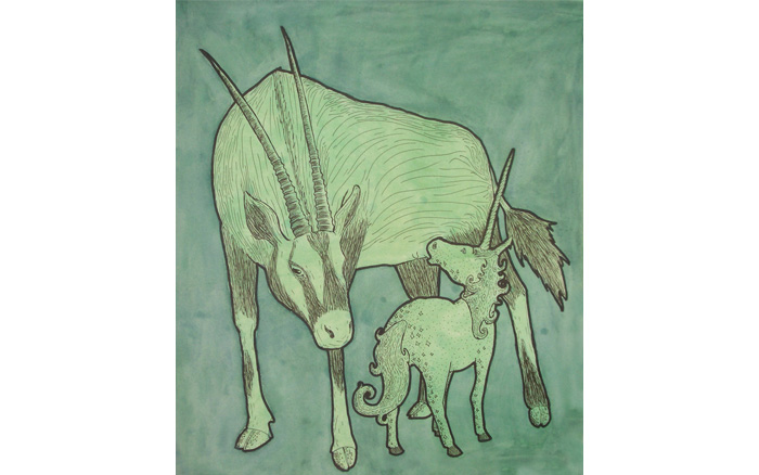 Oryx and Unicorn